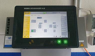 Display Sigma Druckluft