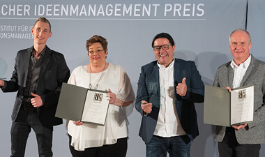Klauke Ideas Management received two awards