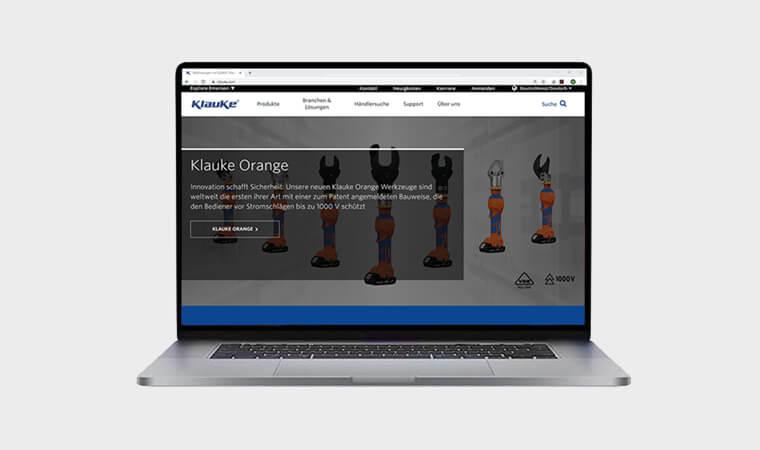 Neue Klauke Website!