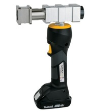 Battery-powered sliding tool with Makita battery