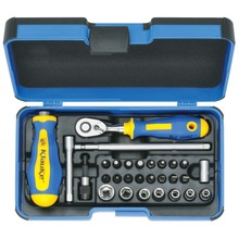 "Socket spanner bit set 1/4"", 29 pcs"