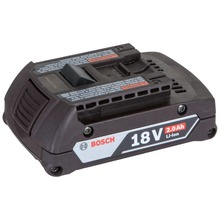 Bosch battery 18 V / 2.0 Ah, Li-Ion