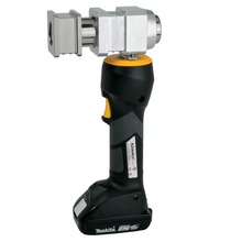 Battery-powered crimping tool with Makita battery