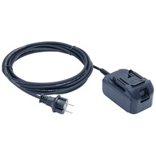 18 V mains adapter for 120 V voltage