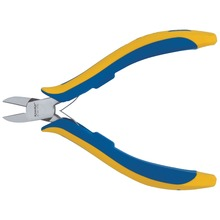 Electronic side cutter, with facet