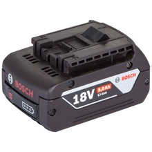 Bosch battery 18 V / 5.0 Ah, Li-Ion